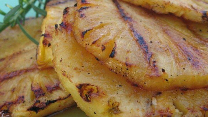 grilled pineapple | backyard bbq | tailgate BBQ | bbq tailgate food | bbq cooking school
