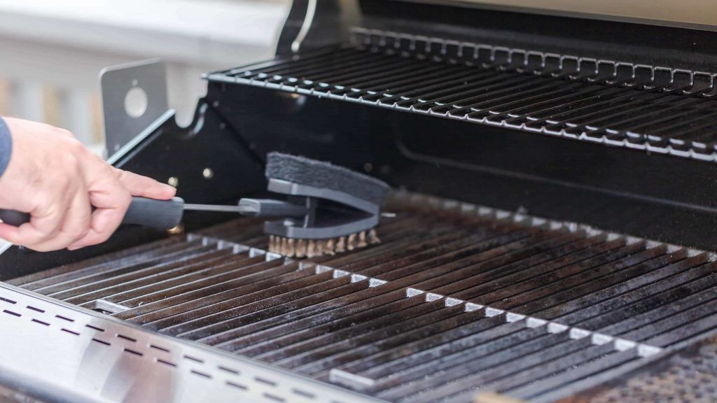 how to clean a grill | grilling food safety | food safety