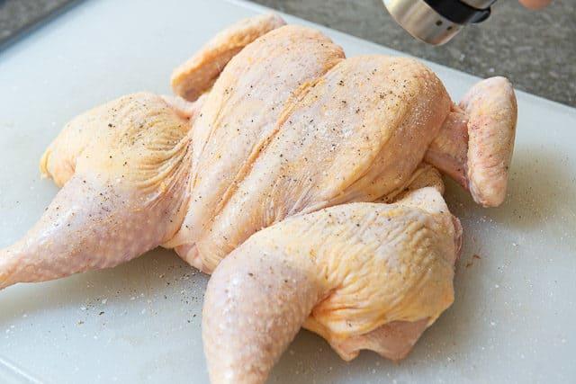 spatchcock chicken | how to smoke chicken | smoked chicken