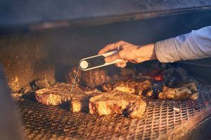digital meat thermometer | grilling food safety | food safety