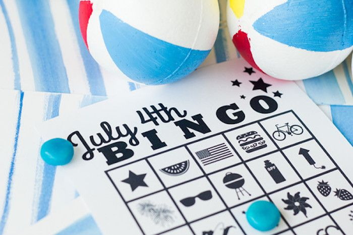 fourth of july activities | 4th of July activities | 4th of july bingo