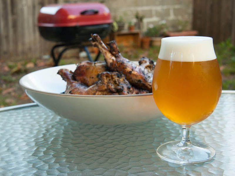 beer to pair with bbq chicken | beer pairings | beer pairing with BBQ