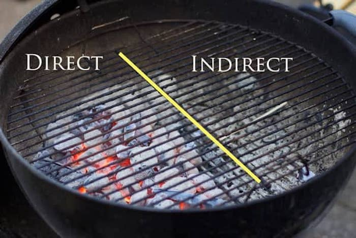 two zone grill setup | cooking multiple pieces of meat at the same time | grilling more than one piece of meat at a time