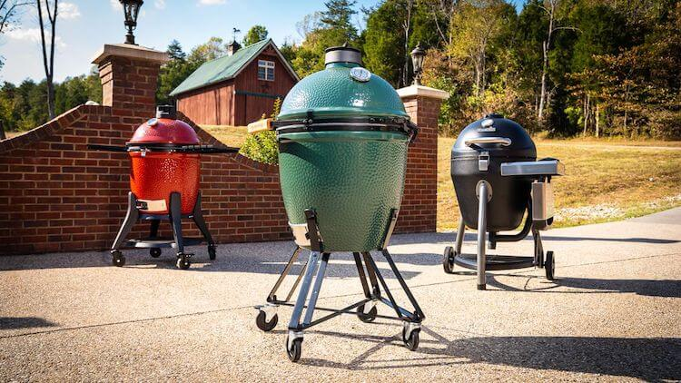 kamado grill smoker | types of smokers | different types of smokers