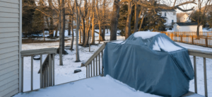 how to store a grill   how to protect your grill   winterize a smoker