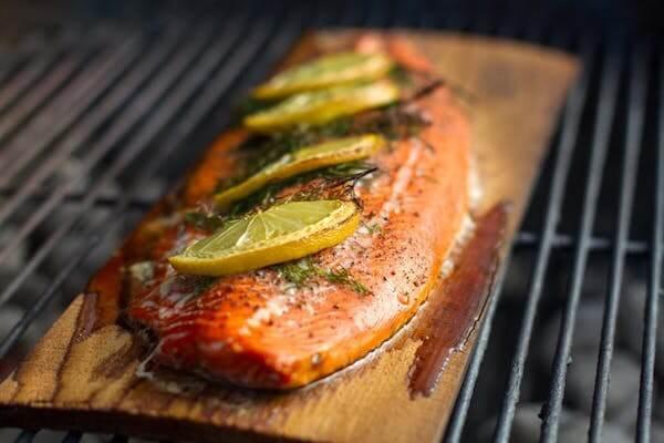 grilling on wood planks | grilling on cedar planks | grilling fish on cedar planks