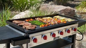 cooking on a griddle grill | how to cook on a griddle grill
