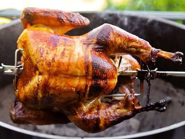 rotisserie smoking turkey | how to smoke whole turkey | tips for smoking a turkey